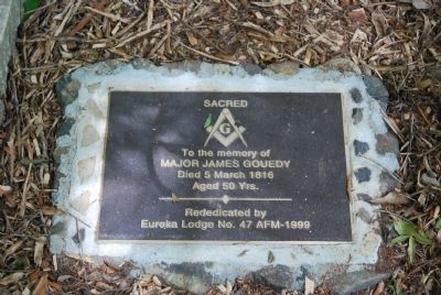 James Goedy Masonic Memorial image. Click for full size.