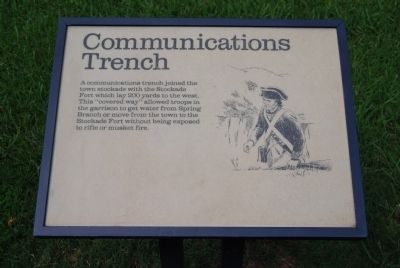 Original Communications Trench Marker image. Click for full size.
