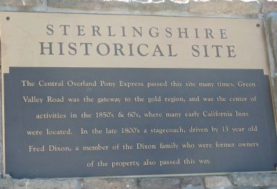 Sterlingshire Marker image. Click for full size.