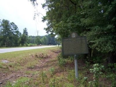 John Houstoun McIntosh Marker, looking south along US 17 image. Click for full size.