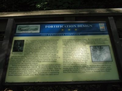 Fortification Design Marker image. Click for full size.