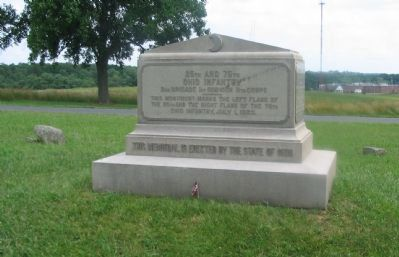 25th and 75th Ohio Infantry Monument image. Click for full size.