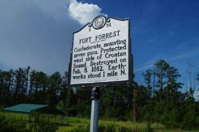 Fort Forrest Marker image. Click for full size.