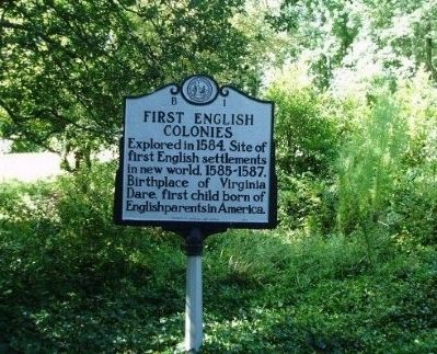 First English Colonies Marker image. Click for full size.