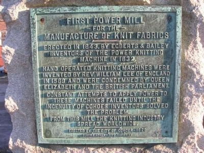 First Power Mill Marker image. Click for full size.