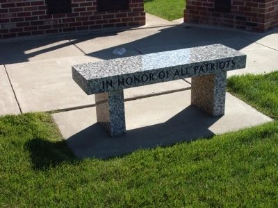 Right Bench at  Patriot Park image. Click for full size.