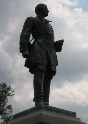 Barlow Statue image. Click for full size.