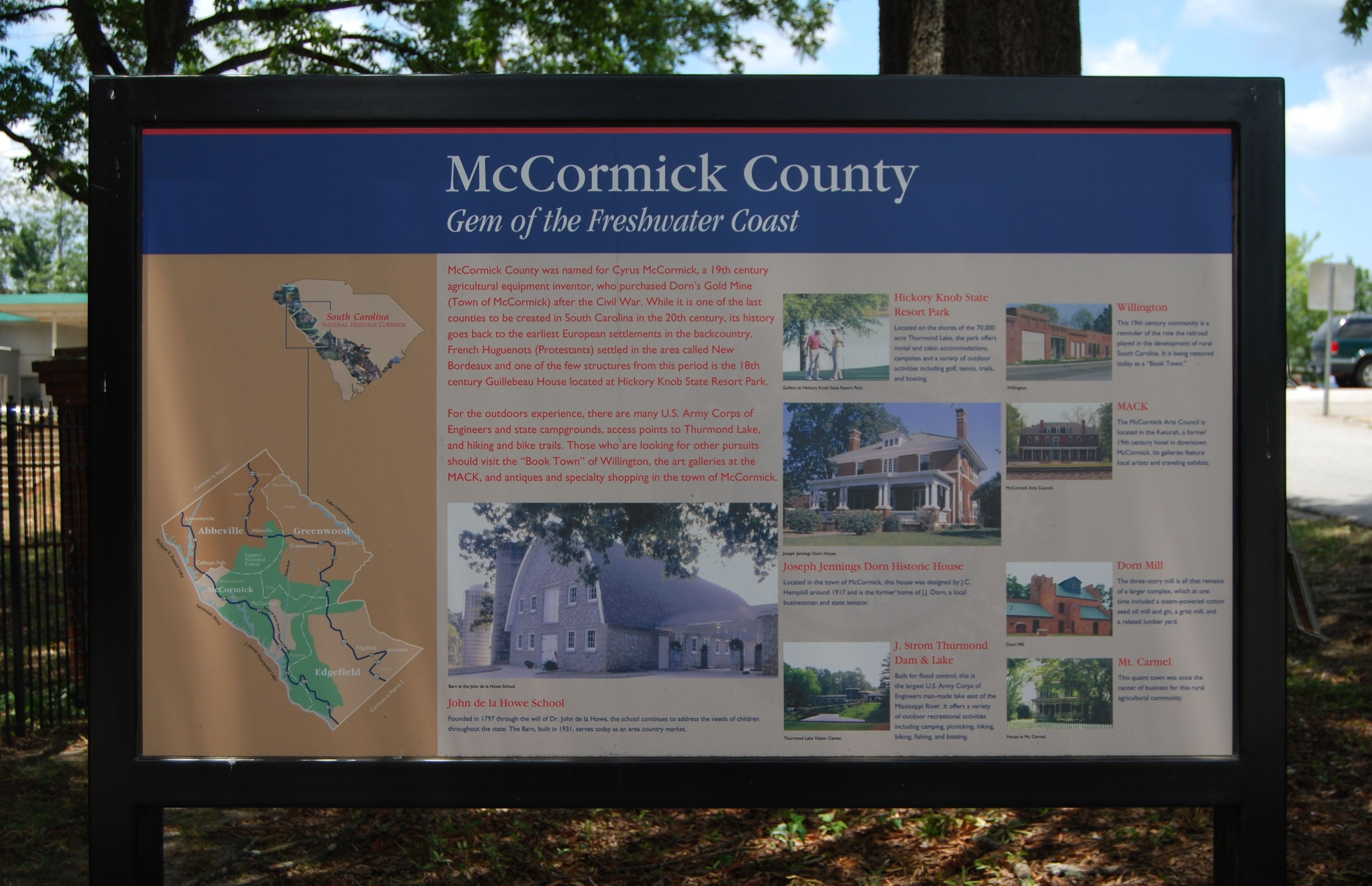 McCormick County / MACK Marker