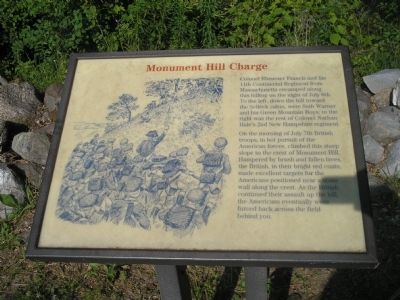 Monument Hill Charge Marker image. Click for full size.