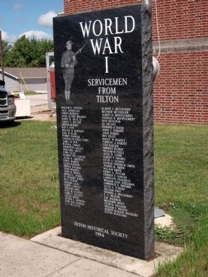 World War I - - Center Marker image. Click for full size.