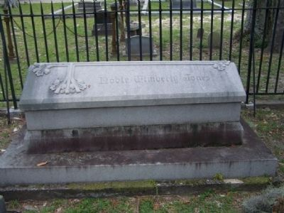 Dr. Noble Wimberly Jones Grave site at nearby Bonaventure Cemetery in Savannah image. Click for full size.