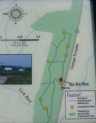 Walking Trail Map image. Click for full size.