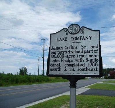 Lake Company Marker image. Click for full size.