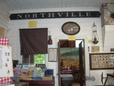 Northville Depot Sign image. Click for full size.