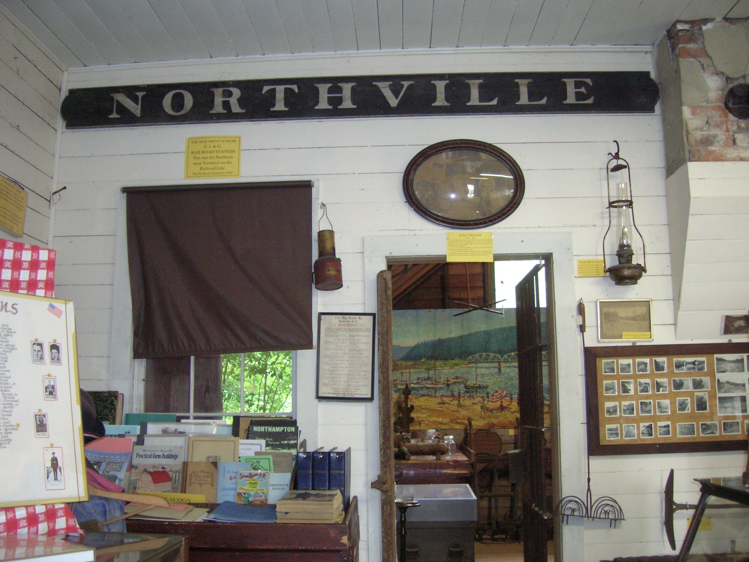 Northville Depot Sign