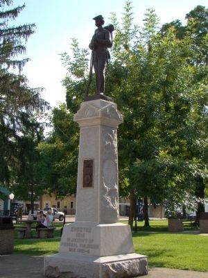Federal Civil War Monument image. Click for full size.