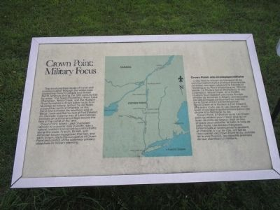 Crown Point: Military Focus Marker image. Click for full size.