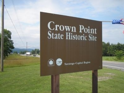 Crown Point State Historic Site image. Click for full size.