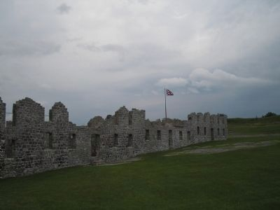 Ruins of the British Fort at Crown Point image. Click for full size.