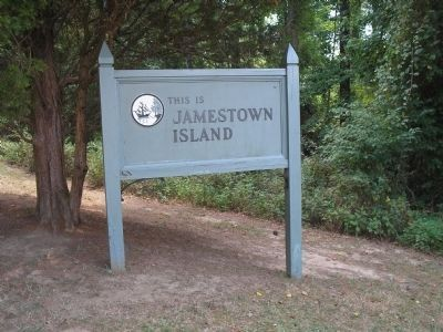 Jamestown Island image. Click for full size.