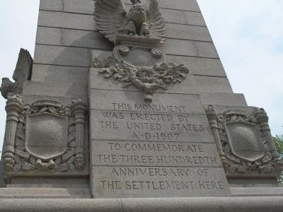 South Side of Monument image. Click for full size.