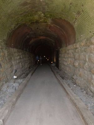 Inside the Western & Atlantic Railroad Tunnel image. Click for full size.