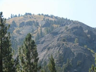 Silver Mountain - Site of Silver Mines image. Click for full size.