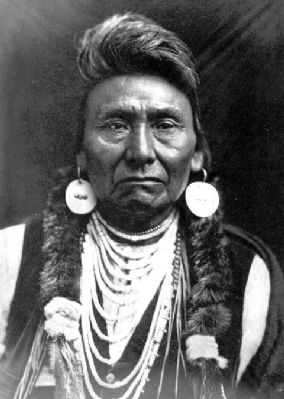 Chief Joseph Marker image. Click for full size.