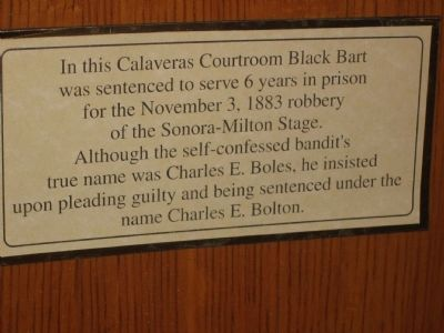 Marker in Court Room image. Click for full size.