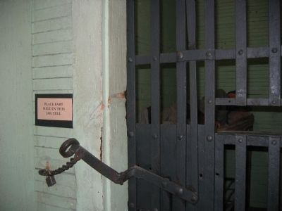 Jail Cell - Black Bart's Temporary Home image. Click for more information.