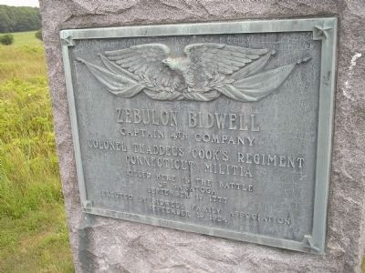 Zebulon Bidwell Marker image. Click for full size.