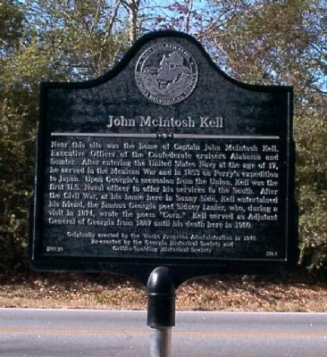 John McIntosh Kell Marker image. Click for full size.