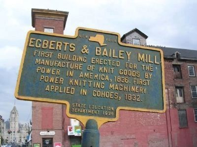 Egberts & Bailey Mill Marker image. Click for full size.