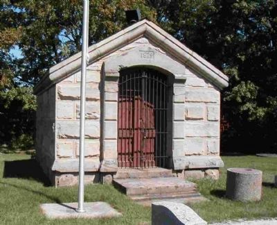1879 Crypt at Butternut Ridge Cemetery image. Click for full size.