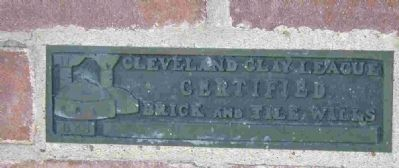 Cleveland Clay League certification tile image. Click for full size.