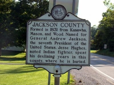 Jackson County Face of Marker image. Click for full size.