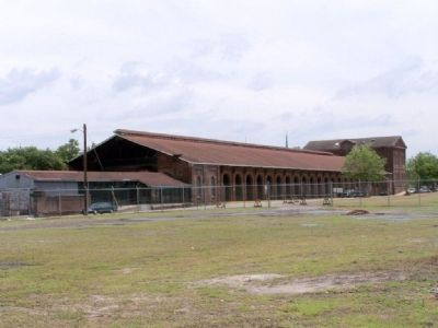 Central of Georgia Station, rear view image. Click for full size.
