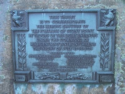 Capture of Stony Point Marker image. Click for full size.