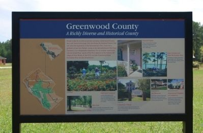 Greenwood County Marker image. Click for full size.