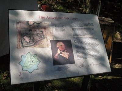 The American Strategy Marker image. Click for full size.