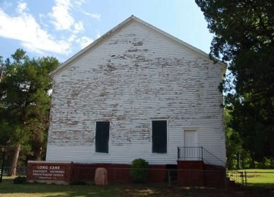 Long Cane Associated Reformed Presbyterian Church - Rear Entrance image. Click for full size.