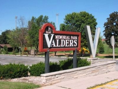 Valders Memorial Park image. Click for full size.