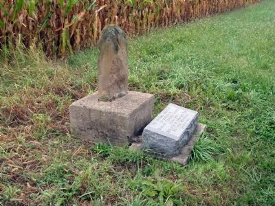 Another View of Mile Stone & Marker image. Click for full size.
