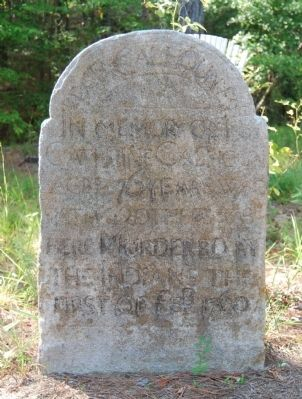 Catherine Calhoun Monument<br>Erected by Patrick Calhoun image. Click for full size.