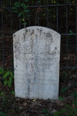 Catherine Guillebeau Tombstone image. Click for full size.