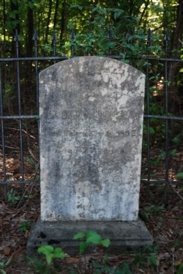 Miss Susan Guillebeau Tombstone image. Click for full size.
