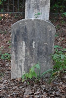 Andre Guillebeau Tombstone<br>Died in 1814 Aged 75 Yrs. image. Click for full size.