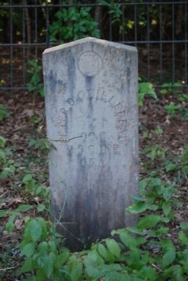 Peter D. Guillebeau Tombstone image. Click for full size.