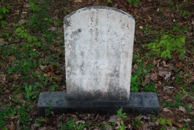 Andrew Guillebeau Tombstone image. Click for full size.