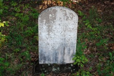 Mary Guillebeau Tombstone image. Click for full size.